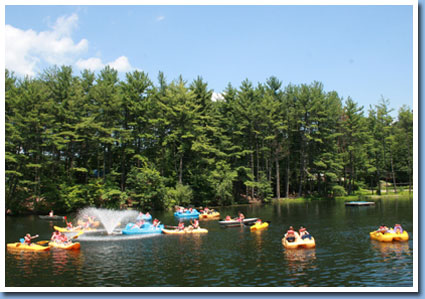 summer camp lake